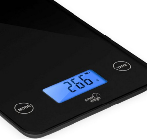 smart weigh gls20 digital glass top kitchen scalesreviewise reviewise