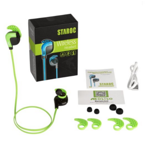 The Staroc Premium Bluetooth 4.1 Stereo Earphones