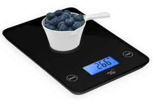 Smart Weigh GLS20 Digital Glass Top Kitchen Scales